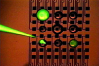 Programmable bubble biochip