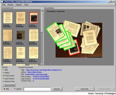 Video organizes paper